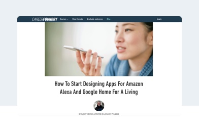 How To Start Designing Apps For Amazon Alexa And Google Home For A Living
